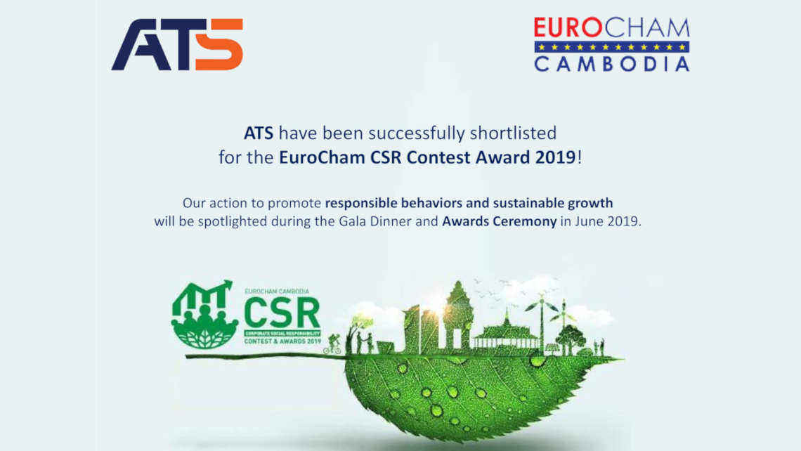 ATS joining the EuroCham CSR Contest Awards 2019